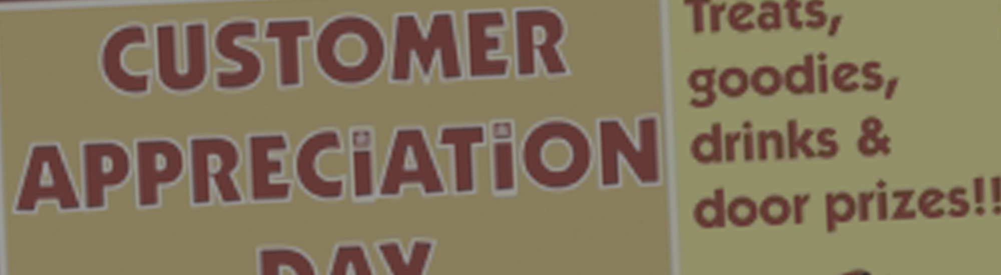 Every Day Should Be Customer Appreciation Day